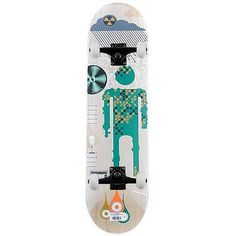 """Alien #workshop #skateboards acid rain complete skateboard #8.25"""" new free delive,  View more on the LINK: http://www.zeppy.io/product/gb/2/112199927248/"""
