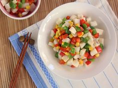Mixed Vegetables Saute Chinese Yam