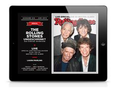 ROLLING STONE IPAD APP (GERMAN EDITION) by Rolling Stone Germany , via Behance
