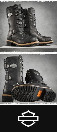 Complete your look from head to toe. | Harley-Davidson Women's Albara Performance Boots