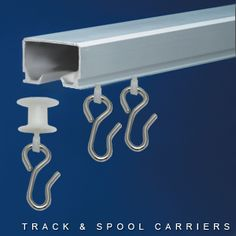 Curtain Track System | Cubicle Curtain Track System With Spool Carriers
