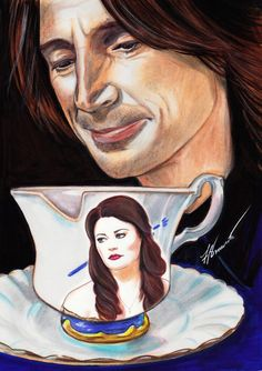 Awesome #RumBelle drawing by Francesca Benevento