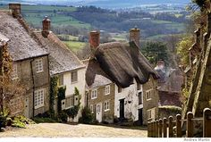Golden Hill, Shaftesbury, Dorset - Thomas Hardy county