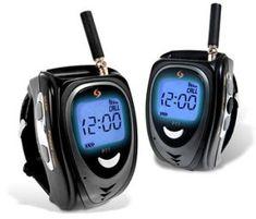 Walkie Talkie Watches - http://www.gadgets-for-men.co.uk/walkie-talkie-watches/