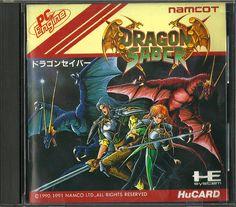 Dragon Saber for the PC Engine #PCEngine #PCE #NEC #PC #Engine #Dragon #Saber #Retro #Gaming