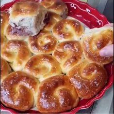 Γλυκά γεμιστά πιτάκια με ότι σας κάνει κέφι Greek Recipes, My Recipes, French Toast, Pudding, Breakfast, Desserts, Food, Baking, Breakfast Cafe