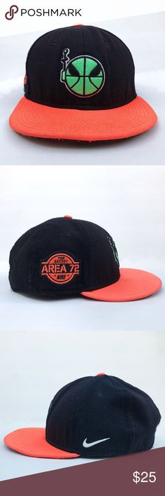 f63ce0223a6 Nike Area 72 Ray-Gun SnapBack hat Pre-owned Nike Top Secret Area 72