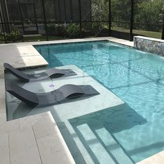 33 Gorgeous Small Pool Design Ideas You Must See - When deciding to buy an in ground swimming pool, there are many things to consider regarding the pool's design. First, think about how big the pool sh. Small Backyard Pools, Backyard Pool Landscaping, Backyard Pool Designs, Outdoor Pool, Small Pools, Landscaping Ideas, Landscaping Edging, Landscaping Plants, Infinity Pool Backyard