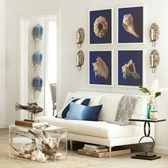 Wisteria - Mirrors & Wall Decor - Wall Art & Decor - Wall Art - Sea Curiosities Wall Art