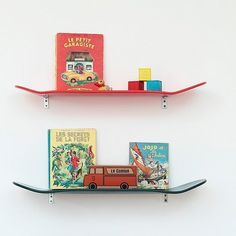 The Coolest Bookshelves For Kid Rooms
