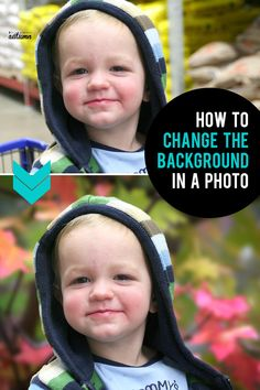 Learn how to easily change the background in a photo with just a few clicks! Fast and easy way to vastly improve your pictures. Photoshop Design, Photoshop Elements, Photoshop Actions, Photoshop Lessons, Change Background, Background Pictures, Light Photography, Digital Photography, Photography Backdrops