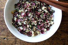 Lentil Salad with Roasted Radicchio & Cauliflower  recipe on Food52