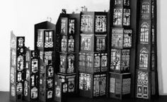 Beatrice Coron, Invisible Cities series, 2008. Cut Paper. Notan Art, Paper Cutting, Cut Paper, Invisible Cities, Paper Architecture, Coron, Paper Book, Paper Artist, House Made