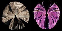 painted fanned book ends