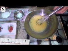 Het bereiden van sabayon - Keizer Culinair - YouTube