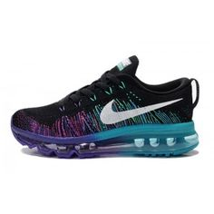 new style 2b913 55e85 Nike Womens Air MAX Flyknit Runing Shoes Black and Purple 408C Nike  Joggers, Nike Pants
