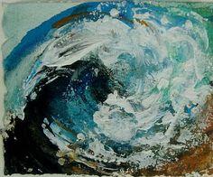 Maggi Hambling - 'North Sea Wave Study I' - DAVID CASE FINE ART
