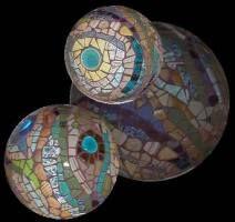 Mosaic Lagniappe - Galería 6 - Esferas / Orbs Tierra para el jardín