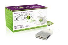 De makers van de Alcachofa de Laon hebben thee ontwikkeld die Alcachofa de Laon helpt ondersteunen bij het afvallen. De theezakjes zijn goed voor het gebruik van één maand.