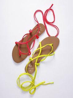 Ankle-wrap Sandals.  #sunburnultimateresort