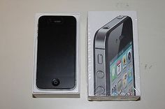 Apple iphone 4s Smartphone Black 32GB Unlocked GSM GPS MC919LL/A | eBay