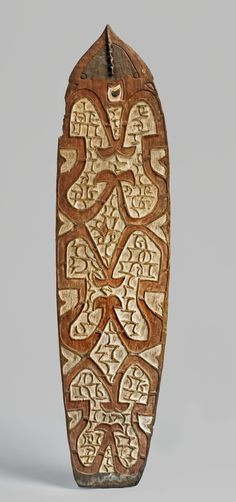 Asmat shield, collected 1929  http://www.britishmuseum.org/research/collection_online/collection_object_details.aspx?objectId=497872&partId=1&searchText=asmat+shield&page=1