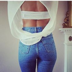 Today my post is unfolding simple, elegant and stylish Casual Jeans Outfit Ideas. It's time to browse casual jeans outfit ideas that will make you look Lässigen Jeans, High Waisted Denim Jeans, Casual Jeans, High Waist Jeans, Skinny Jeans, Beste Jeans, Denim Trends, Jean Outfits, Stylish Outfits