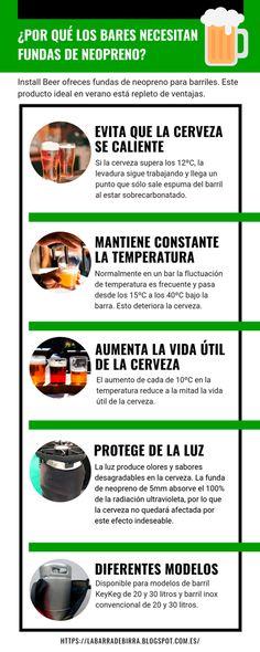 La Barra de Birra: Fundas de neopreno, la solución para los barriles ... Ideas, Beer Keg, Barrels, Barbell, Cases, Summer Time, Thoughts