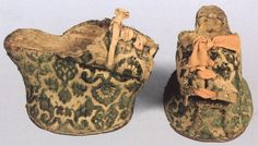 Extant Raised Heels - Chopine, Zoccolo, and Other Raised Heel and High Heel Construction 1560-1600