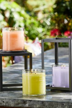 Enjoy the instant, all-over glow of The World's Brightest Candle™ with added fabulous fragrance! Perfect for outdoor and indoor use. Seen here Peach Honey Citronella, Wild Lemongrass Citronella, Geranium Citronella. Partylite, Citronella, Burning Candle, Natural Remedies, Outdoor Living, Candles, Fragrances, Inspiration, Summer
