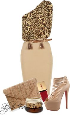 """Untitled #1100"" by stylisheve on Polyvore"