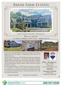 Marketed with ZipYourFlyer.com, the Nationwide Leader in Agent to Agent Real Estate Email Flyers!