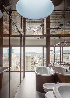 Penthouse Zurich, Zurich, 2014 - cls architetti #bathroom