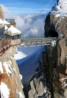 One of the Highest Points in Europe, du Midi, Chamonix, France