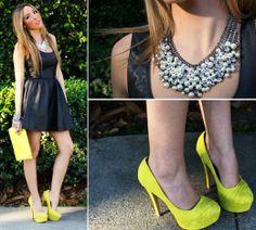 Mix trang phục với những đôi giầy màu sắc -2