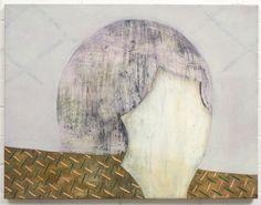 Adrienne Vaughan, Flug, 2013, Oil and enamel on canvas, 500 x 660mm