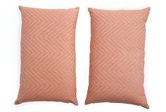 Kelly Wearstler Pillows, Pair on OneKingsLane.com