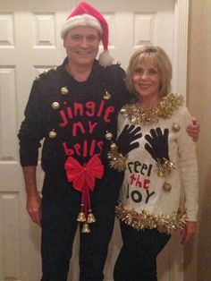 couples christmas sweaters ugly sweaters for couples funny christmas jumpers christmas party costumes