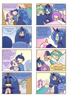 Humanized Pony comic 7, 8 by HowXu on DeviantArt