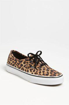 Vans  Authentic Leopard  Sneaker (Women) available at  Nordstrom Leopard  Vans f56b24341