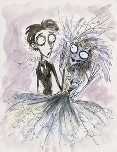 tim burton sketches | the art of tim burton on Tumblr