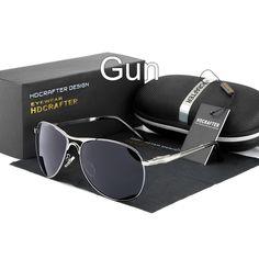 29f6463b3f HDCRAFTER Sunglasses for Man Cool Polarized Sun Glasses Men Eyewear UV  Protection Oculos de sol masculino