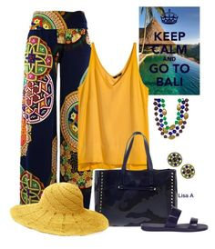 """""""Top It Off: Summer Hat"""" by labond ❤ liked on Polyvore featuring H&M, Valentino, Chanel, Mar y Sol and summerhat"""