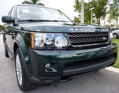 2013 Range Rover Sport in Aintree Green For The Holidays! #LandRoverPalmBeach #LandRover #RangeRover http://www.landroverpalmbeach.com/