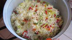 Čalamáda na studeno – najlepší recept: Žiadne zaváranie ani varenie – ide o najlepšiu prílohu, akú poznám! Food Snapchat, Cheeseburger Chowder, Pickles, Tapas, Mashed Potatoes, Cauliflower, Cabbage, Good Food, Food And Drink