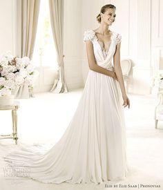 pronovias elie by elie saab 2013 wedding dress louisse gown