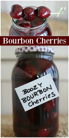 """Boozy Bourbon Cherries These Bourbon Cherries are perfect for gifting or adding to cocktails."""", """"pinner"""": {""""username"""": """"first_name"""": """"Mandi"""", """"domain_url"""": null, """"is_default_image"""": false, """"image_medium_url"""":. Cocktail Garnish, Cocktail Drinks, Fun Drinks, Yummy Drinks, Healthy Drinks, Cocktail Recipes, Alcoholic Drinks, Beverages, Healthy Food"""