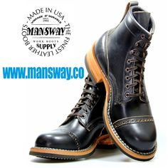 MANSWAY BOOTS by WHITE'S www.mansway.co