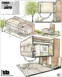 Interesting Find A Career In Architecture Ideas. Admirable Find A Career In Architecture Ideas. Architecture Concept Drawings, Plans Architecture, Modern Architecture House, Architecture Details, Interior Architecture, Architectural Drawings, Architecture Presentation Board, Interior Design Sketches, Construction