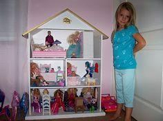 Homemade dollhouse